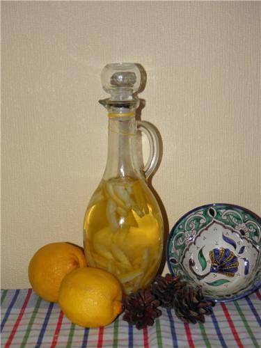 Лимонный или апельсиновый уксус
