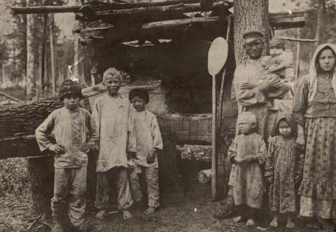 Страдания переселенцев на пути в Сибирь
