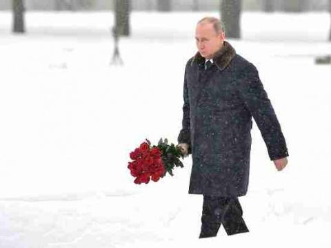 К Путину на петербургском кл…