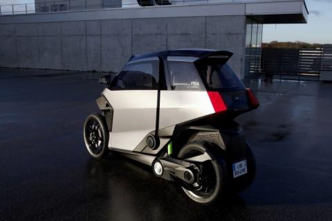 Peugeot и Citroen представляет городской концепт