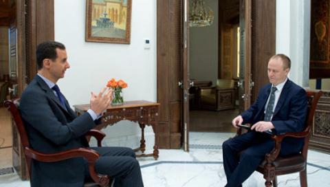 Асад: Россия частично компенсировала потери сирийской ПВО