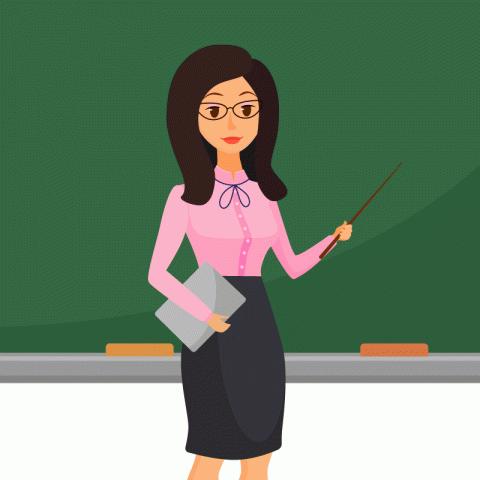 Вкласс пришла новая учитель…