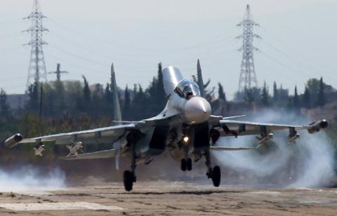 Истребители ВКС РФ приземлил…