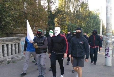 Радужная битва в Запорожье. …
