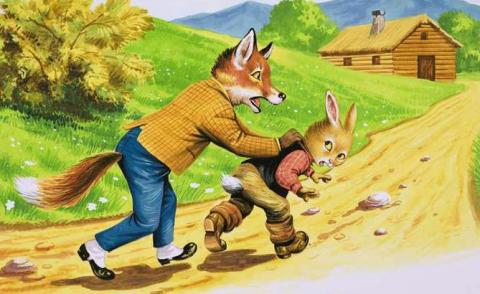 Это сочинение про зайцев про…