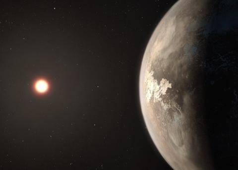 Астрономы открыли ближайшую …
