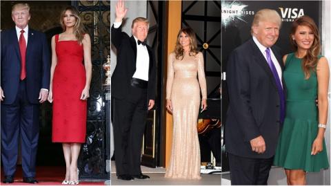 Первая леди США в зарубежном турне — 15 сногсшибательных образов Мелании Трамп