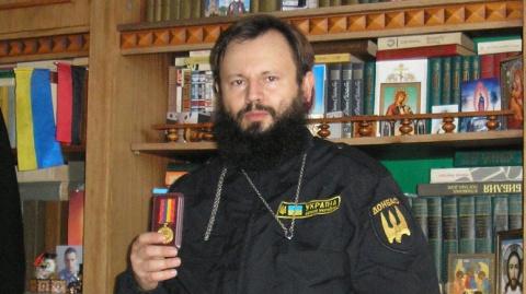 Религиозный Майдан: капеллан «Донбасса» сослал Порошенко в ад