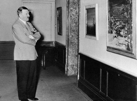 Художественные экзерсисы Адольфа Гитлера (26 фото)