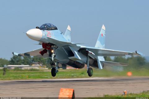 Сотый истребитель Су-30СМ передан Минобороны России