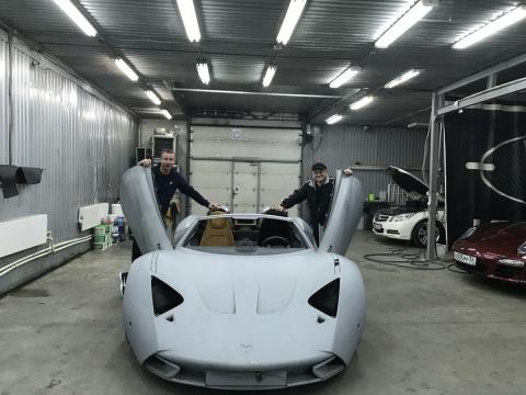 Сибиряк скупил все суперкары Marussia: он хочет возродить бренд