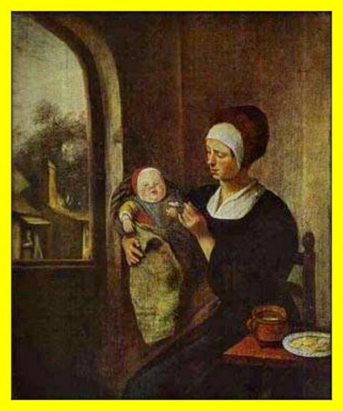 Мать и ребенок.(Ранее произведение)