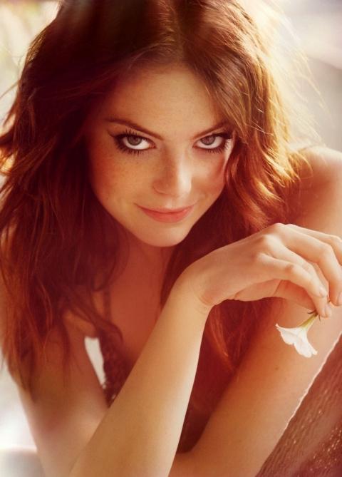 Красивые рыжеволосые девушки…