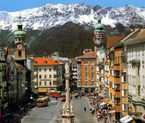 Прекрасный Инсбрук