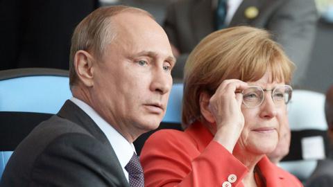 Меркель готовит зраду. Русла…