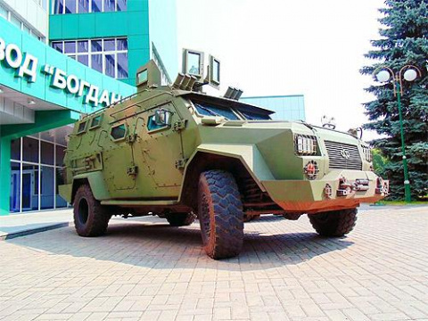 Бронеавтомобиль «Барс-8» про…