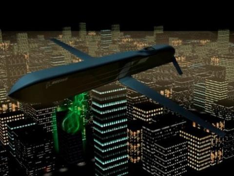 Микроволновая ракета Boeing «выключила» электронику целой базы условного противника