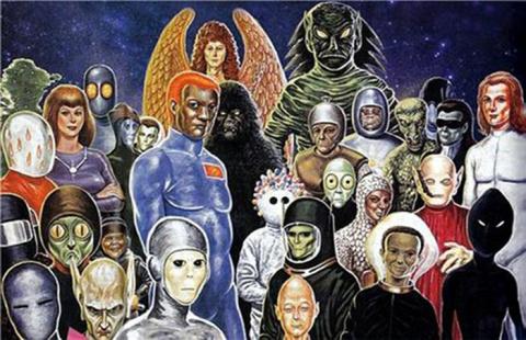 Формируется новая раса земля…