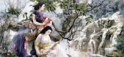 Очень давно в Китае художник JI SHUWEN