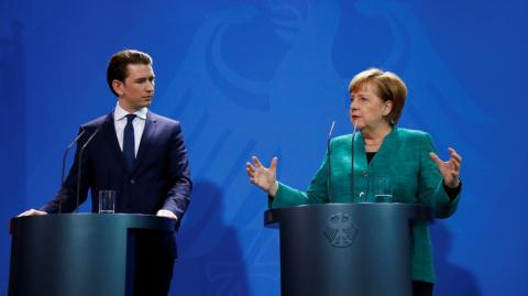 Меркель: близость Австрии с …