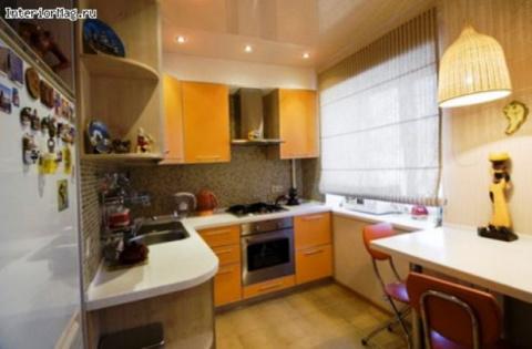 Варианты дизайна кухни в хрущевке — красота и комфорт на считанных метрах!