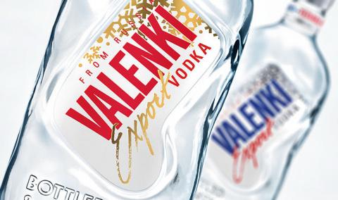 Водка Valenki призывает готовить валенки летом