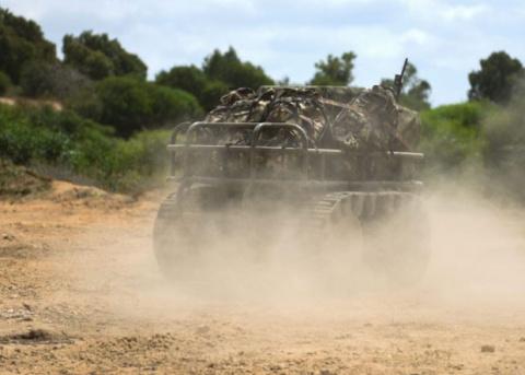 Роботы займут место лам в израильской армии
