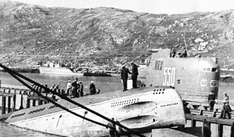 Взрыв советской подлодки 196…