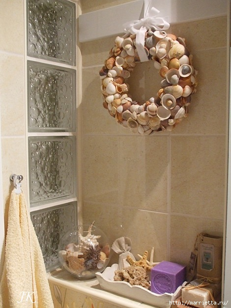 Как украсить ванную своими руками фото