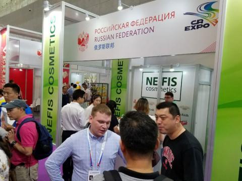 «Нэфис Косметикс» осуществил поставку партии бытовой химии в Китай