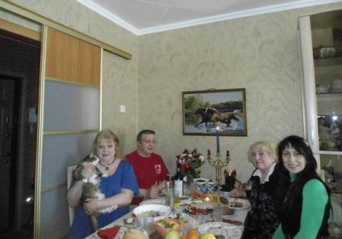 В кругу родных