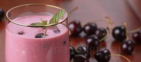 вишневый коктейль