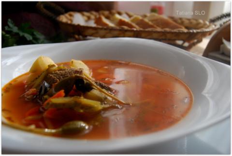 """Говяжий суп """"похмельный"""" ..."""
