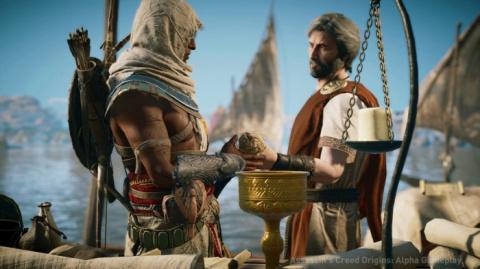 В Assassin's Creed: Origins …
