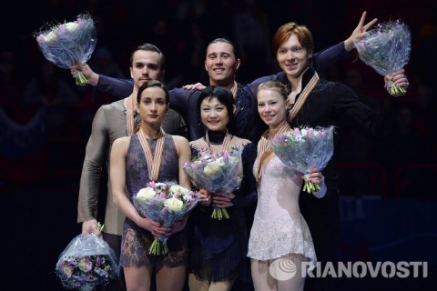 Фигурное катание. Российские пары заняли весь пьедестал на чемпионате Европы