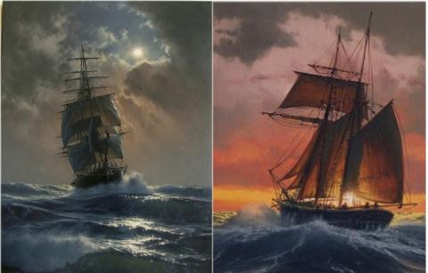 Парусники и морская стихия: …