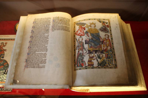 Манесский кодекс – как иллюс…
