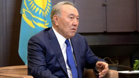 Встреча президента Казахстан…