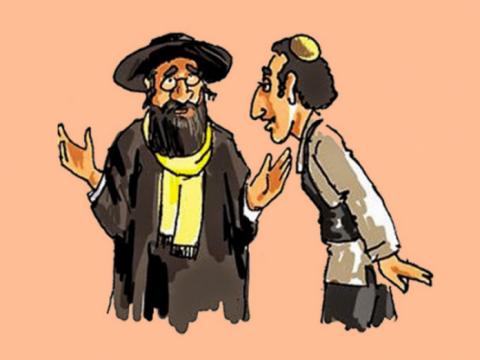 Два еврея встретились, и оди…