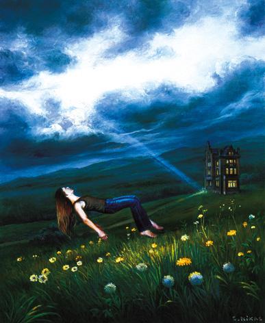 Летний сон перед грозой при посещении таинственного дома