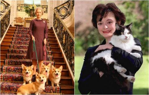 11  фотографий мировых лидеров с их очаровательными домашними животными