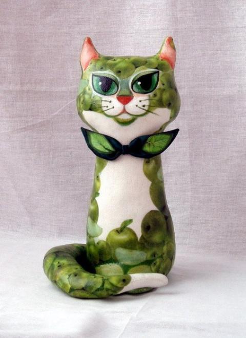 Яблочный кот