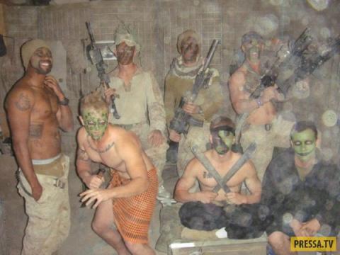 Прикольные фотографии армейской службы (45 фото)