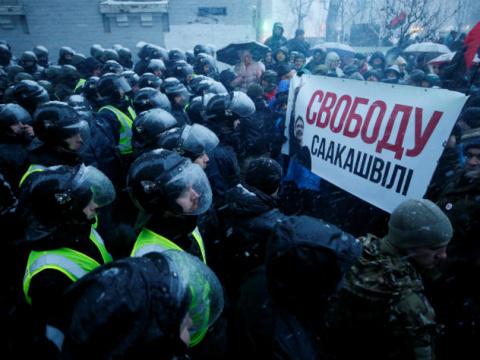 Сторонники Саакашвили готовя…