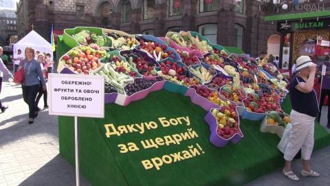 Фрукты и овощи в Киеве обраб…