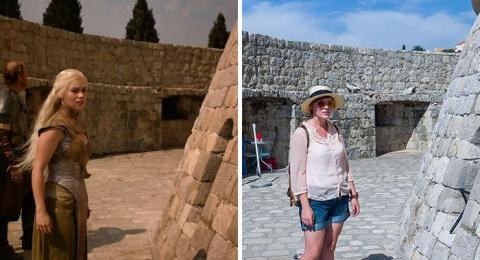 """Место съемок сериала """"Игра Престолов"""": семейная пара нашла памятные места в Хорватии"""