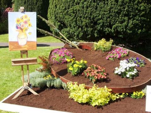 Садовый креатив