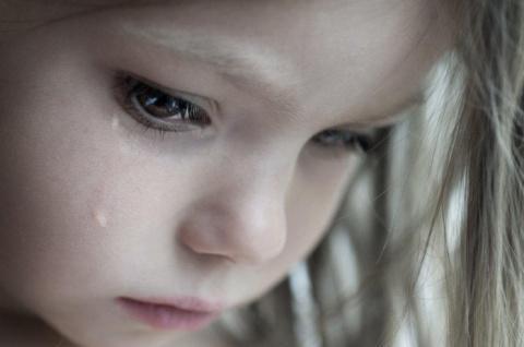 «Я хочу кушать», — тихо сказала маленькая девочка