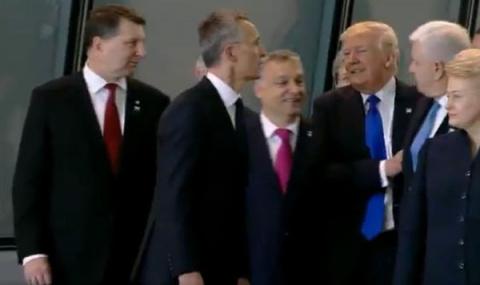 Трамп толкнул премьера Черно…