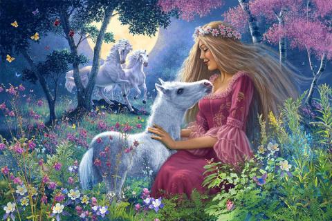 Мир волшебства и сказки. Британский художник Steve Read